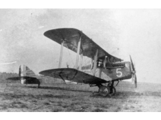 DH 4 of No. 55 Squadron