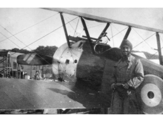 Malijk with his Sopwith Camel