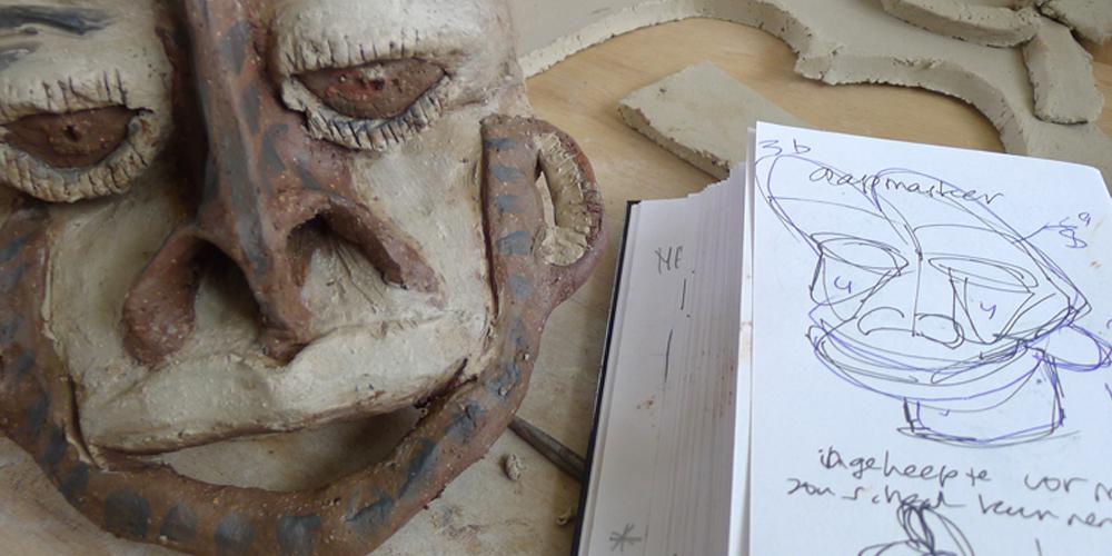 Welkom bij MachteldTeekens.nl - keramiek als beeldende kunst