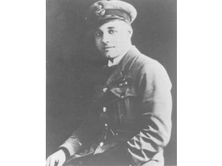 W E Johns in RAF uniform