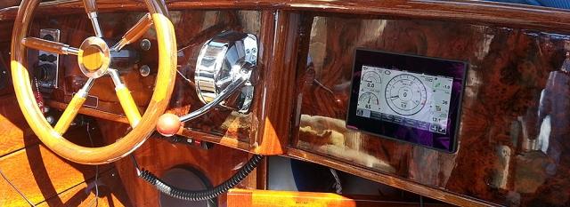 Ombouw taxi boot Venetië