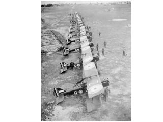 SE 5a aircraft of No. 85 Squadron