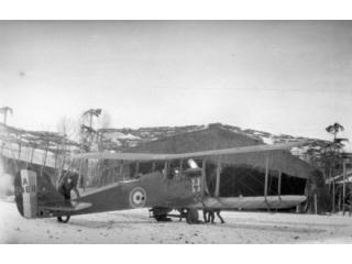 D.H.4, serial A7468, of A Flight, 55 Squadron, RFC